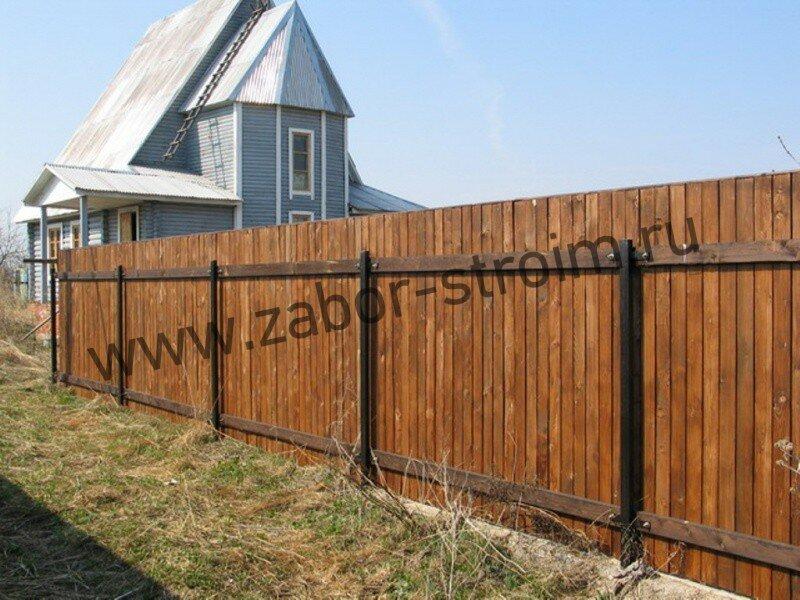 Строим забор